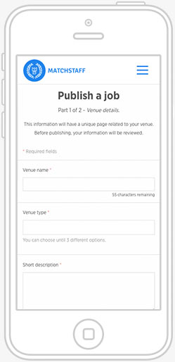 publish jobs